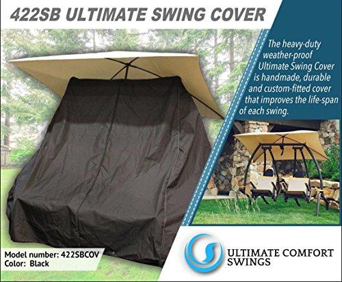 - Ultimate Comfort 422SB Custom Cover - Made for The Sunset Swings 422SB Dual Swing