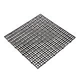 Shoresu Aquarium Fish Tank Isolation Divider Filter Patition Board Net Divider Holder Black 30x30 cm