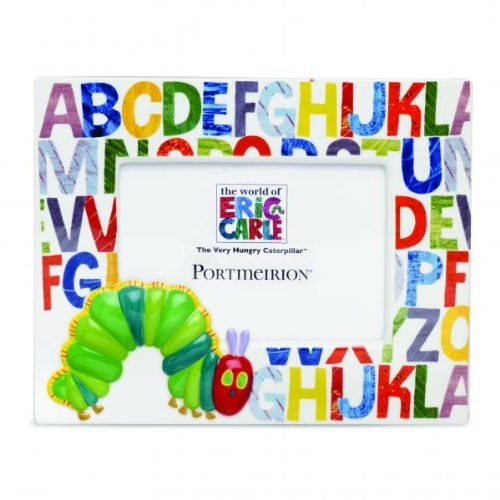 (Portmeirion - The Very Hungry Caterpillar by Eric Carle - Photo Frame - Children's Giftware - 6 1/4 x 4 1/2in)