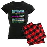 CafePress Women's Dark Pajamas - Veronica Mars Quotes Women's Dark Pajamas