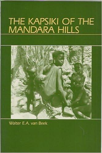 Kapsiki of the Mandara Hills