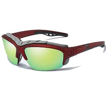 Ykmaggie Gafas De Sol Deportivas Polarizadas Protección UV400 Visión De Alta Definición Marco Robusto Para Hombres