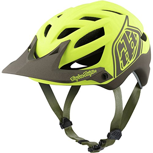 Troy Lee Designs A1 MIPS Helmet Classic Yellow/Black, XL/XXL For Sale