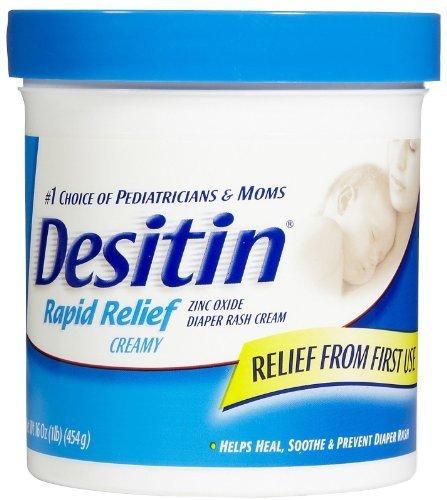 Price comparison product image Desitin Rapid Relief Creamy Diaper Rash Cream - 16 oz