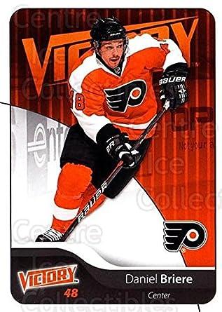 Amazon.com  (CI) Daniel Briere Hockey Card 2011-12 UD Victory (base ... c57da0eaf