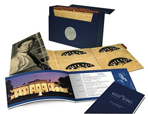 the west wing the complete series collection by warner home video video store online. Black Bedroom Furniture Sets. Home Design Ideas