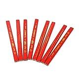 Atoplee 24 PCS Carpenter pencils (Red refill)