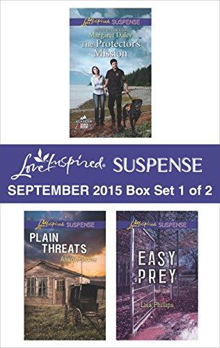book cover of Love Inspired Suspense September 2015 - Box Set 1 of 2