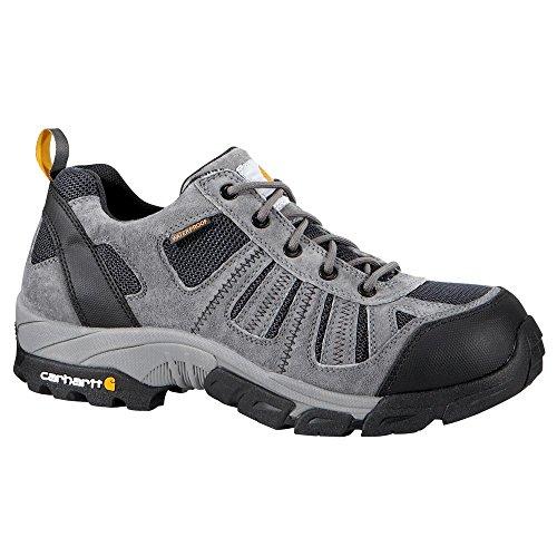 Carhartt Men's CMO3356 Lightweight Low-Rise Composite Toe Work Hiker Boot,Grey Suede/Navy Nylon,13 W US ()
