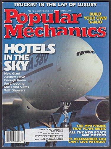 (POPULAR MECHANICS Kia Mazda Chevrolet GMC MP3 Phone Airbus A380 + 3 2001)