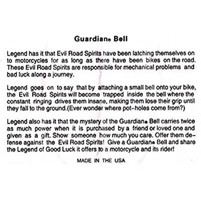 Guardian Bell This Bike Protected Complete Motorcycle KIT W/Hanger & Wristband: Automotive