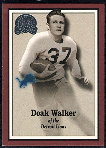 Football NFL 2000 Fleer Greats of the Game #83 Doak Walker Lions