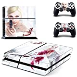 Parasite Eve 3 ps4 skin decal for console and 2 controllers