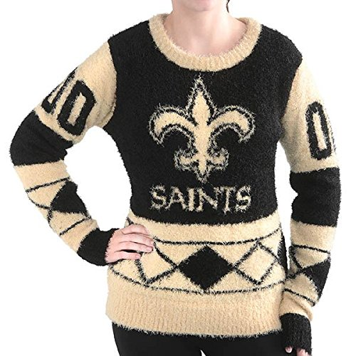 NFL Womens Eyelash Ugly Sweater