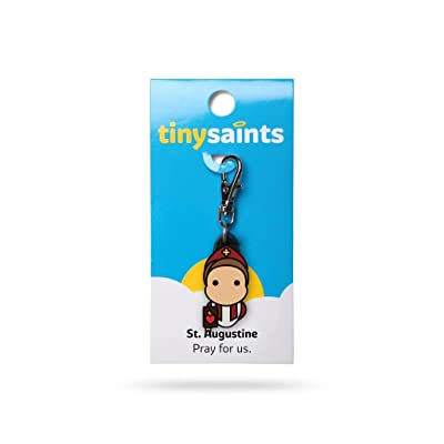 Tiny Saints St. Augustine CHARM: Toys & Games