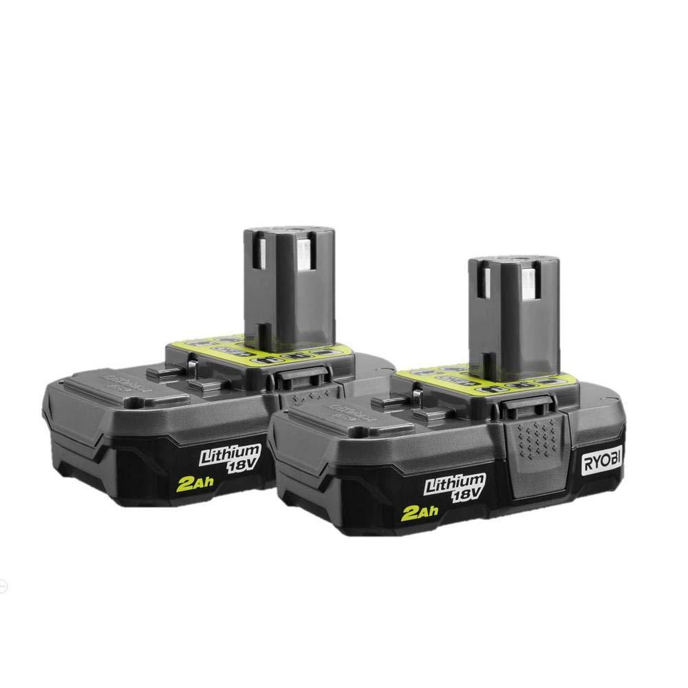 2 Baterias Originales RYOBI P161 18V 2.0AH