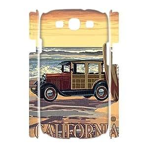 Custom New Case for Samsung Galaxy S3 I9300 3D, California Love Phone Case - HL-529035
