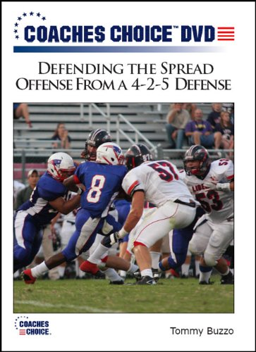 Defending the Spread Offense From a 4-2-5 Defense (Defending The Spread Offense With The 4 4)