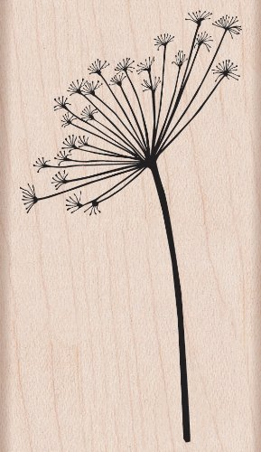 (Hero Arts G5311 Mounted Rubber Stamp, Woodblock Stamp - Silhouette Spray)
