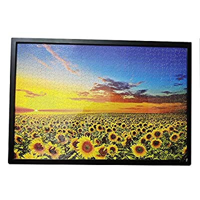 1000 Pieces Puzzles for Adults Wooden Jigsaw Puzzles Flowers Floor Puzzle Kids DIY Toys for Creative Gift Home Decor- Sunflower: Toys & Games