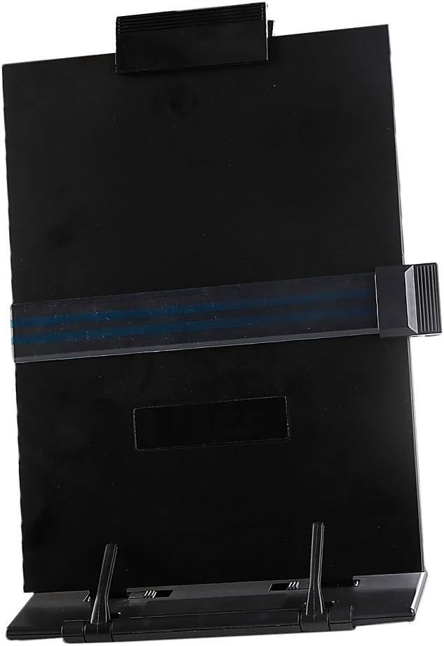 Pour Feuilles De Format Lettre FLAMEER Porte-document Support De Lecture Portable Chevalet Gris Clair Copie