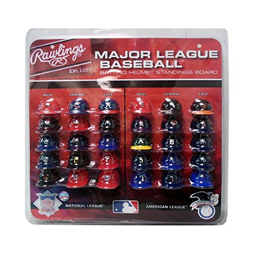 mlb-major-league-baseball-deluxe-helmet-standings-board-mini-red