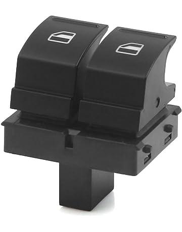 Sourcingmap 2K0959857A 4 Patillas 2 Botones Interruptor Elevalunas para Coche GTL MK5