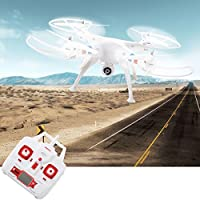 Syma X8W 4CH Gyro RC Quadcopter Explorers Drone with WiFi FPV 2MP Camera RTF - By Choice Products