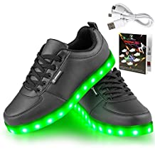 Shinmax LED Shoes LED Sneakers Shoes CE certification 7 Colors Changing Flashing Sport Shoes USB charging