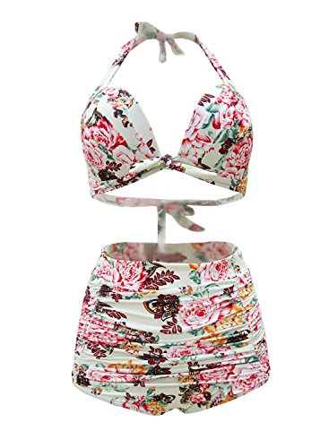 Futurino Womens Floral Carnival Swimsuit product image