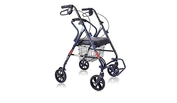 Lxn Mobility Rollator Walker Plegable con Ruedas de 7 ...