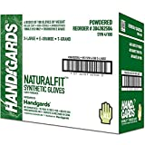 Handgards Extra Large Synthetic Powder Free Glove, 100 count per pack -- 400 per case.
