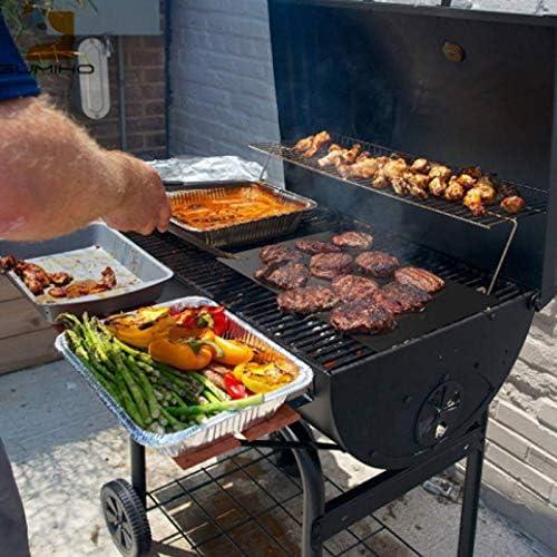 """Grillmatte BBQ Fußmatte Grillteppich Schmutzfangmatte /""""Barbecue Party/"""""""
