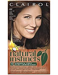 Clairol Natural Instincts, 4W / 28B Roasted Chestnut...