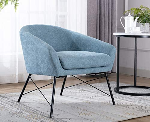 Reviewed: Chairus Mid-Century Accent Chair Fabric Upholstered Lounge Arm Chair