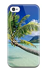 Best Snap-on Bora Bora Case Cover Skin Compatible With Iphone 4/4s 4450710K48361009