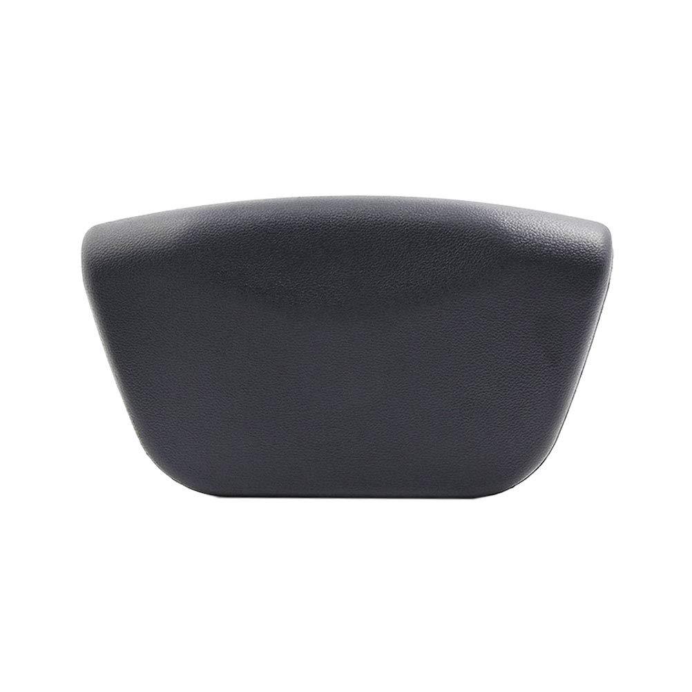 Frcolor cuscino da vasca da bagno cuscino poggiatesta spa ad asciugatura rapida per il bagno (nero)