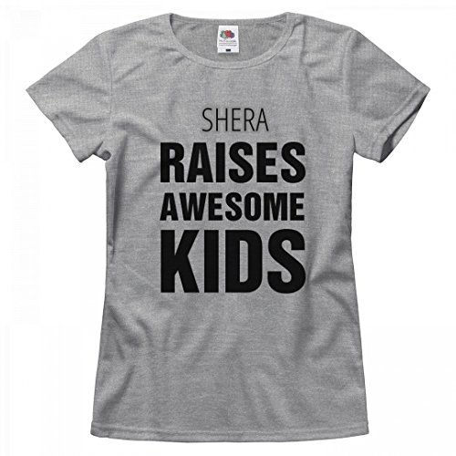 She Ra Outfit (Shera Raises Awesome Kids: Misses Relaxed Fruit of the Loom T-Shirt)
