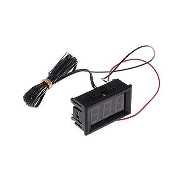 MXECO Detector de la Temperatura del termómetro Digital Caliente DC5-12V Nevera Vida de la