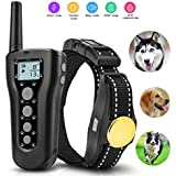 Fubosi Dog Training Collar, 1000ft Remote Electric Dog Shock Collar Rechargeable Waterproof Pet Trainer Collars with Beep Vibration Shock Harmless Safe Pet Control Collar for All Dogs