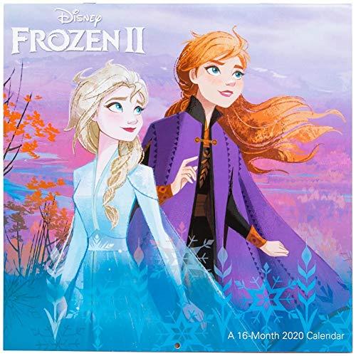 Disney Frozen 2 16-Month 2020 Calendar