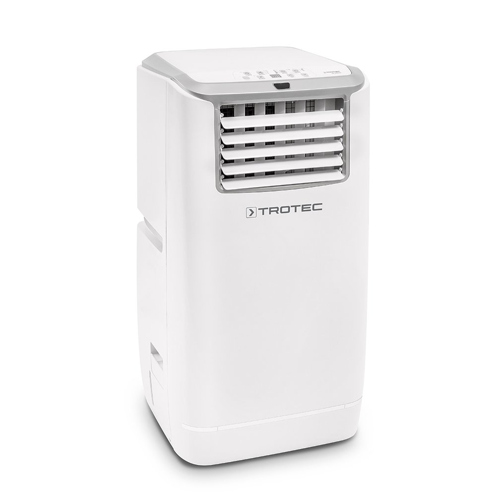 Trotec PAC 3200 E 1210002050 – Climatiseur portable à 11000 BTU, Conditionneur d'air local, monobloc 3,2 kW, EEK A +