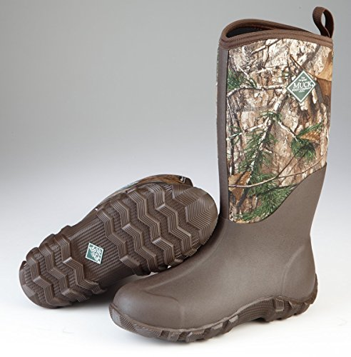 Muck Boot Men's Feildblazer II Knee High Boot, Brown, Realtree Xtra, 9 D(M) US
