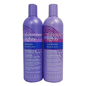 1. Clairol Shimmer Lights Shampoo + Conditioner