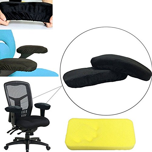 Memory Foam Cotton Armrest Cushion Pads Elbow Arm Rest Cover Chair Armrest Pads