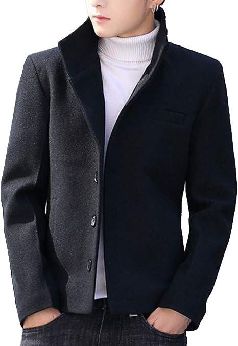 Heaven Days(ヘブンデイズ ) スタンドカラーコート 秋冬 コート ジャケット アウター ショート丈 メンズ 1912C0415