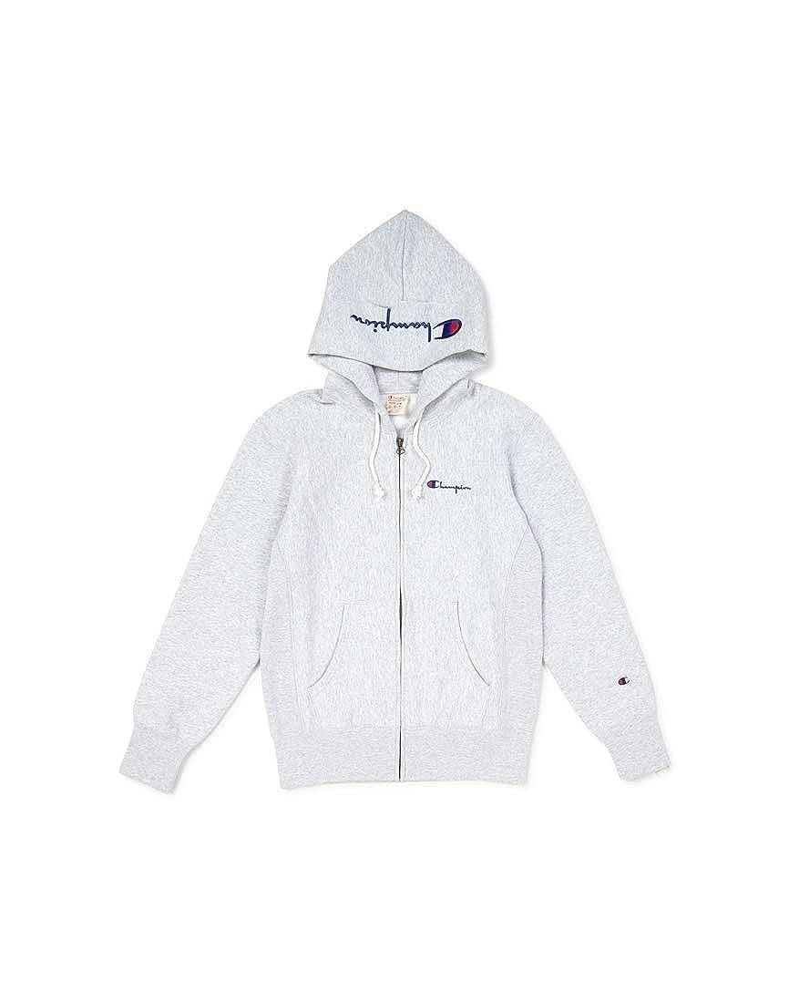 Champion Reverse Weave Skript Logo Hooded Sweat