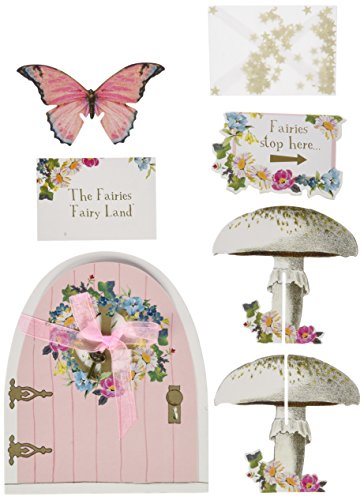 Talking Tables Truly Fairy Party Door Sign Set, Multicolor