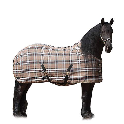 Image of 80g SuperMesh Horse Turnout Blanket by Kensington — Waterproof, Breathable and Insulated Horse Turnout Rug for Your Horse — Contoured Fit and Mildew-Proof Equestrian Sports