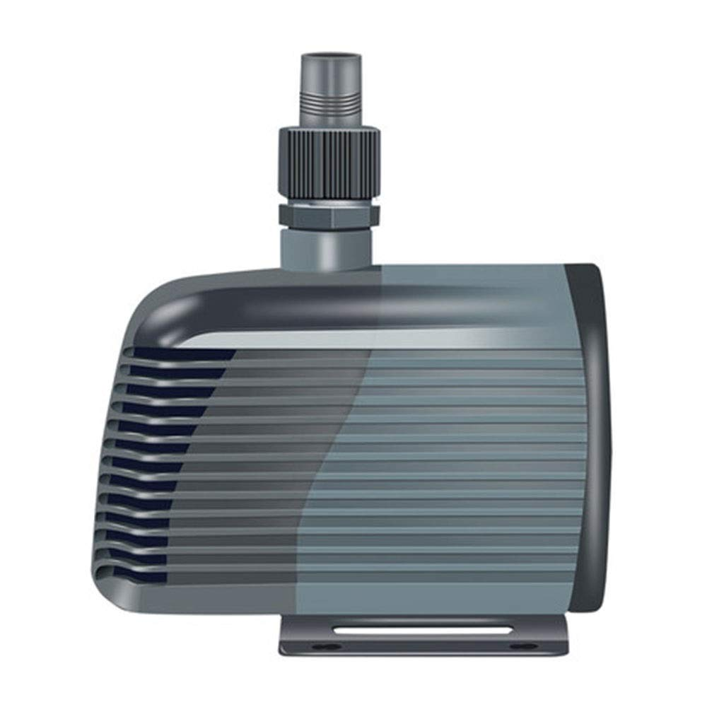 LIFUREN Fish Tank Oxygen Pump Pump Silent Pump Small Submersible Pump Circulating Pump Water Pump Bottom Suction Pump Low Power (Color : Gray, Size : 5W)